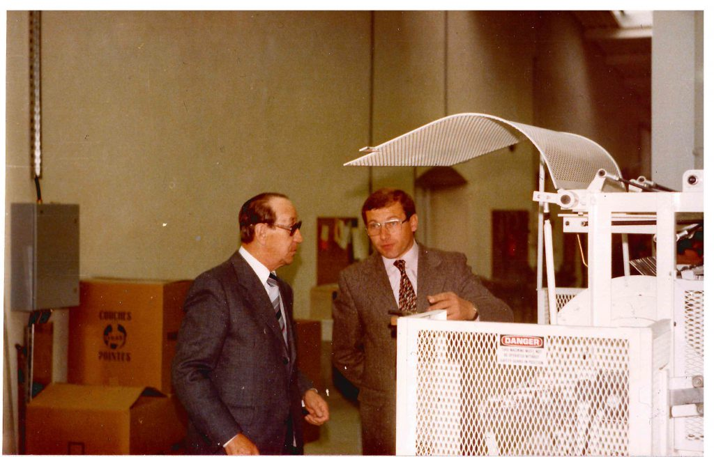 Gerhard Walter 1977 als geschäftsführender Gesellschafter von Fink & Walter GmbH