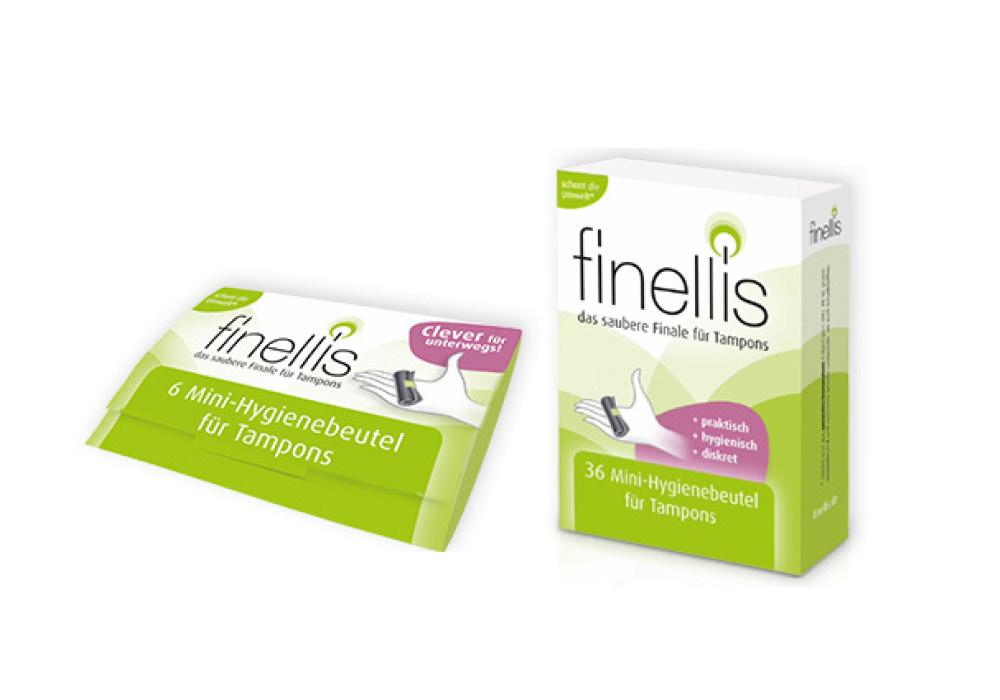Finellis Minihygienebeutel Spezielle Produkte Fink & Walter GmbH